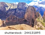 Angels Landing Is A 1 488 Foot...