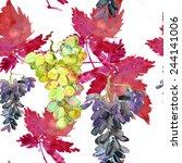 Grape Seamless Pattern....