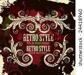 vector stylize label | Shutterstock .eps vector #24418960