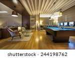 interior of a luxury living... | Shutterstock . vector #244198762