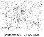grunge texture. grunge... | Shutterstock .eps vector #244226836
