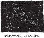 grunge texture.grunge... | Shutterstock .eps vector #244226842