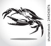 Image Graphic Style Of Crab ...