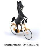fun horse | Shutterstock . vector #244253278