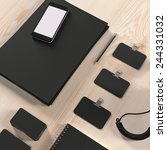 mockup business template. high... | Shutterstock . vector #244331032