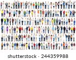 people diversity success... | Shutterstock . vector #244359988