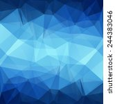 Abstract Polygonal Background...