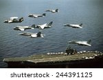 aircraft assigned to the... | Shutterstock . vector #244391125