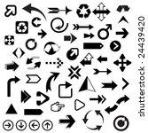 huge set of arrows