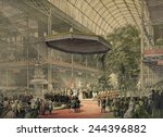 Queen Victoria Presides At The...