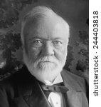Small photo of Andrew Carnegie 1835-1919 Scottish-American industrialist and philanthropist. Ca. 1905