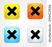 web ui colorful glossy buttons...