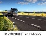 truck on the road | Shutterstock . vector #244427302