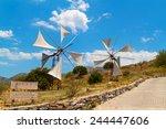Windmills Of Lasithi Plateau O...