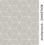 vector seamless pattern. modern ... | Shutterstock .eps vector #244457638