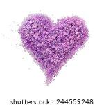 Purple Heart Of Lavender Bath...