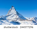 View Of Matterhorn On A Clear...