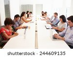 design team collaborating on... | Shutterstock . vector #244609135