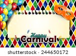 carnival harlequin background... | Shutterstock .eps vector #244650172