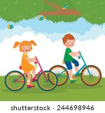 stock cartoon illustration of... | Shutterstock . vector #244698946