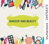 pattern makeup and beauty...