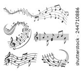 Music Note Wave Sets