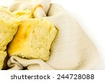 freshly baked sourdough dinner... | Shutterstock . vector #244728088
