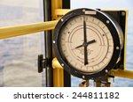 pressure gauge for measuring... | Shutterstock . vector #244811182
