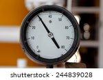 pressure gauge for measuring... | Shutterstock . vector #244839028