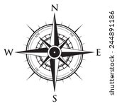 compass background | Shutterstock .eps vector #244891186