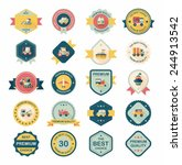 transportation badge flat...