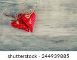 Red Cloth Valentines Handmade...