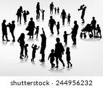 family concept illustration | Shutterstock .eps vector #244956232