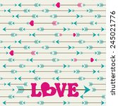 arrow abstract pattern  vector... | Shutterstock .eps vector #245021776