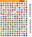 all independent world country... | Shutterstock .eps vector #245040538