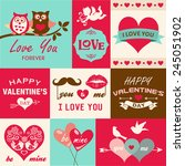 Valentine's Day Card And Desig...