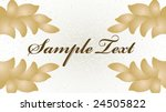 abstract floral background with ...   Shutterstock .eps vector #24505822