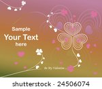 valentine s day elements for... | Shutterstock .eps vector #24506074