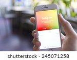 chiang mai  thailand   january... | Shutterstock . vector #245071258