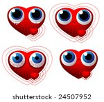valentine s day characters | Shutterstock .eps vector #24507952