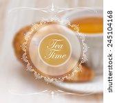 Menu Design Template With Tea...
