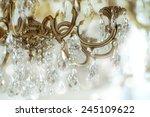 Vintage Crystal Chandelier...
