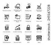 personal   business finance... | Shutterstock .eps vector #245167228