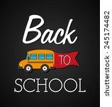 education design over black... | Shutterstock .eps vector #245174482