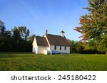 small historic church in the...