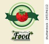 food design over beige...   Shutterstock .eps vector #245196112