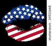 image version of a patriotic... | Shutterstock . vector #24521668