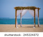 Canopy On The Beach In Bali...
