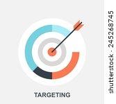 targeting | Shutterstock .eps vector #245268745
