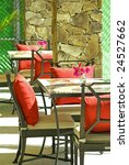 tables and chairs | Shutterstock . vector #24527662